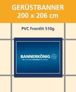 Gerüstbanner PVC, 200x206cm | BANNERKÖNIG