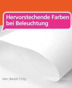 Backlit Banner 510g | BANNERKÖNIG