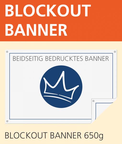 Blockout Banner | BANNERKÖNIG