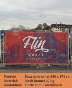 Baunzaunbanner | BANNERKÖNIG