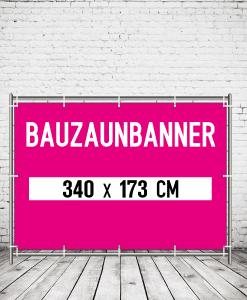 Bauzaunbanner - Plane für Bauzaun