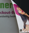 Blockout Banner – Beidseitig bedrucktes Banner