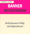 Reflektierendes Banner | BANNERKÖNIG