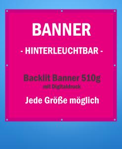 Backlit Banner | BANNERKÖNIG