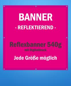 Reflexbanner | BANNERKÖNIG