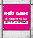 Gerüstbanner im Wunschformat | BANNERKÖNIG