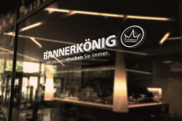 Transparente Klebefolie bedruckt mit Ihrem Wunschmotiv / Logo