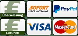 Zahlungsmöglichkeiten | BANNERKÖNIG