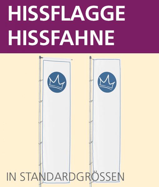 Hissflagge / Hissfahne   BANNERKÖNIG