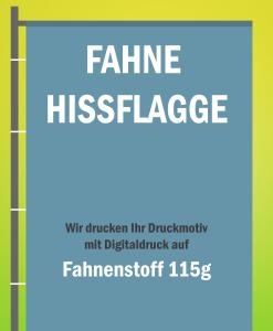 Hissflagge / Fahen drucken   BANNERKÖNIG