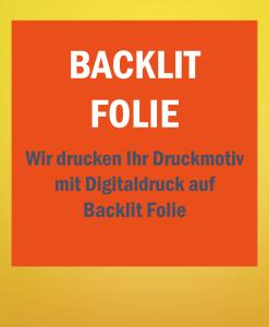 Backlit Folie   BANNERKÖNIG