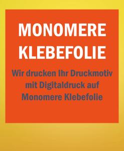 Monomer Folie   BANNERKÖNIG