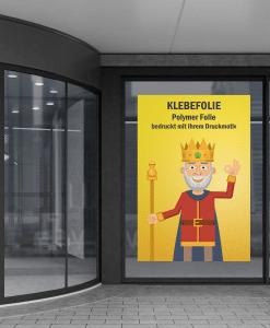 Polymer Folie mit Digitaldruck | BANNERKÖNIG