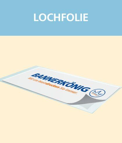 Lochfolie | BANNERKÖNIG