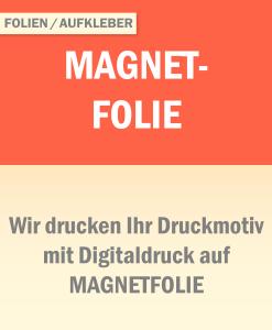 Magnetfolie   BANNERKÖNIG