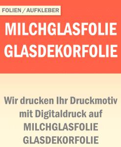 Milchglasfolie | BANNERKÖNIG