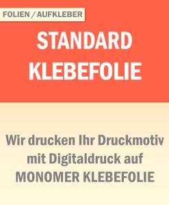 Monomer Klebefolie | BANNERKÖNIG