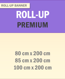 Roll-Up Banner Premium | BANNERKÖNIG