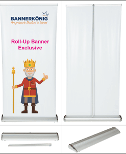 Roll- Up Banner Exclusive | BANNERKÖNIG