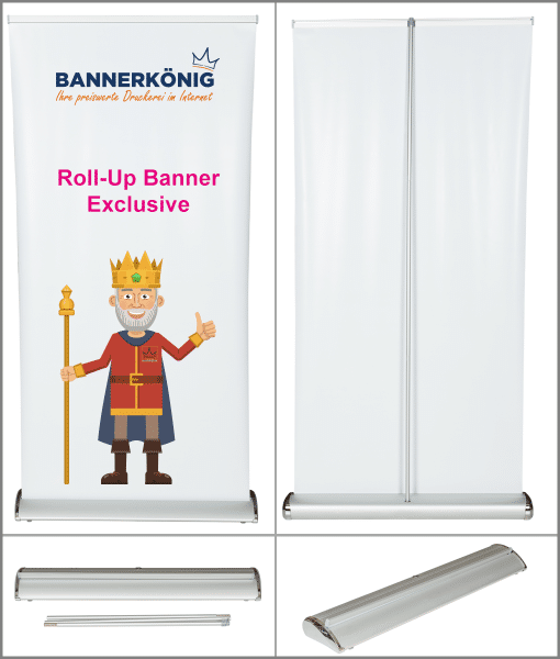 Roll- Up Banner Exclusive | BANNERKÖNIG
