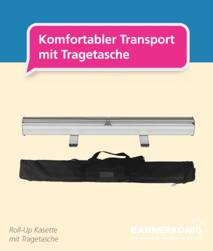 Roll-Up Basic – Tragetasche   BANNERKÖNIG
