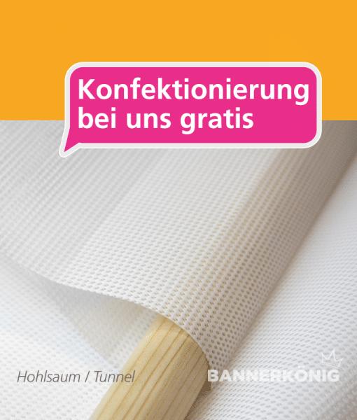 Hohlsaum / Tunnel | BANNERKÖNIG