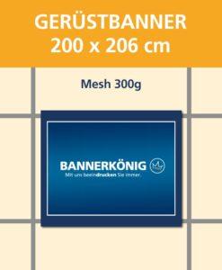 Gerüstbanner Mesh, 200x206cm | BANNERKÖNIG