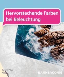 Backlit Folie | BANNERKÖNIG