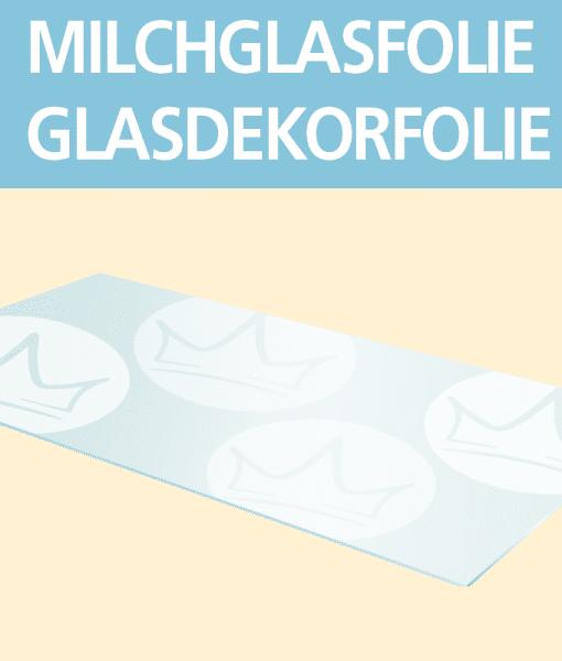 Milchglasfolie – Glasdekorfolie   BANNERKÖNIG