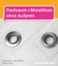 Gerüstbanner Mesh Wunschformat – Flachsaum + Metallösen | BANNERKÖNIG