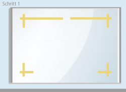 Trockenmethode - Schritt 1 | BANNERKÖNIG