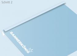 Trockenmethode - Schritt 2 | BANNERKÖNIG