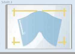 Trockenmethode - Schritt 3 | BANNERKÖNIG