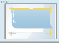 Trockenmethode - Schritt 4 | BANNERKÖNIG
