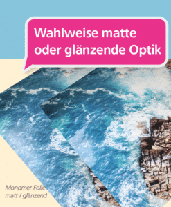 Monomer Folie – matt/glänzend | BANNERKÖNIG