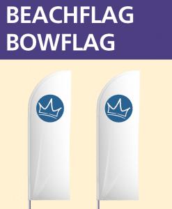 Beachflag Bow | BANNERKÖNIG