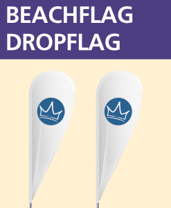 Beachflag Drop | BANNERKÖNIG