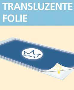 Transluzente Folie | BANNERKÖNIG