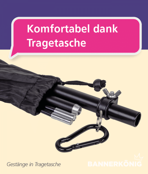 Beachflag - Tasche   BANNERKÖNIG