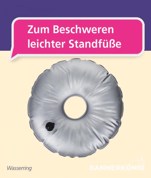Beachflag-Zubehör – Wasserring   BANNERKÖNIG
