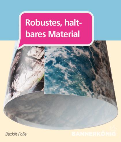Backlit Folie – Material | BANNERKÖNIG