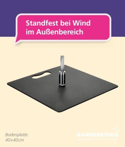 Beachflag-Zubehör – Bodenplatte | BANNERKÖNIG