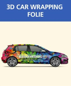 3D Car Wrapping Folie