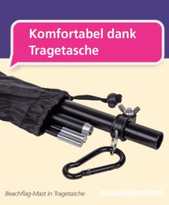 Beachflag – Tragetasche | BANNERKÖNIG