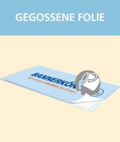Gegossene Folie | BANNERKÖNIG
