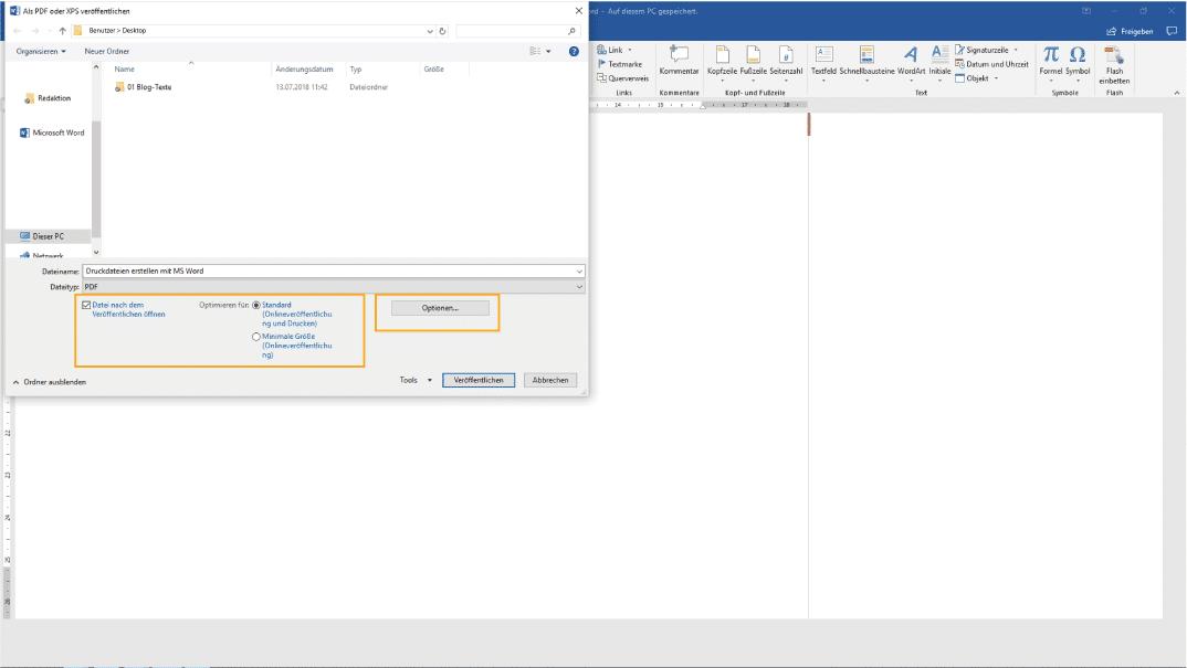 Druckdateien erstellen mit MS Word   ein BANNERKÖNIG Ratgeber