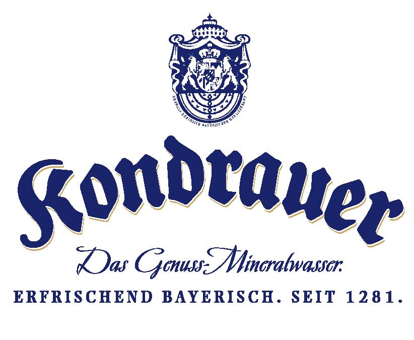 Logo Kondrauer Mineralbrunnen | Referenzen von BANNERKÖNIG