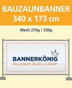 Bauzaunbanner | BANNERKÖNIG