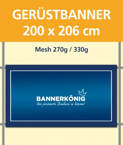 Gerüstbanner | BANNERKÖNIG