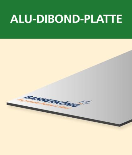 Alu-Dibond-Platte | BANNERKÖNIG